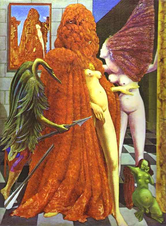The Robing of the Bride (Max Ernst)
