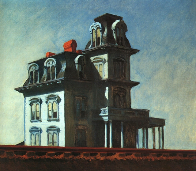 House by the Railroad (1925) - Edward Hopper
