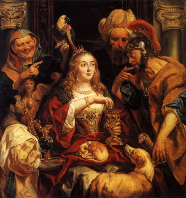 The Banquet of Cleopatra - Jacob Jordaens