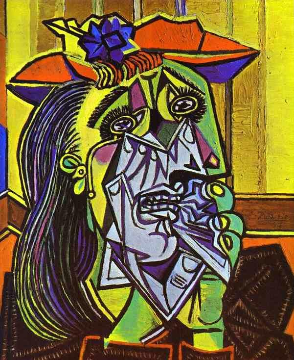 Weeping Woman - Picasso (1937)