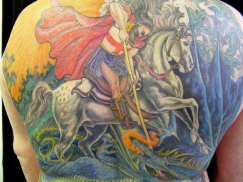 George and the Dragon Tattoo