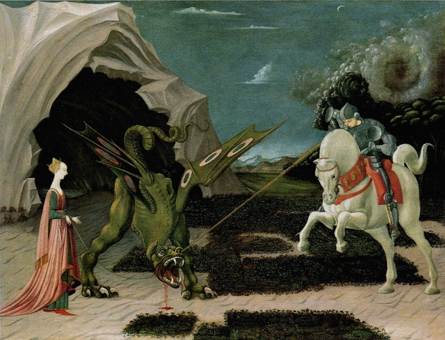 St  George and the Dragon Paolo_Uccello