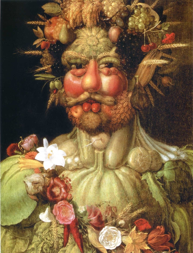 Rudolf II as Vertumnus