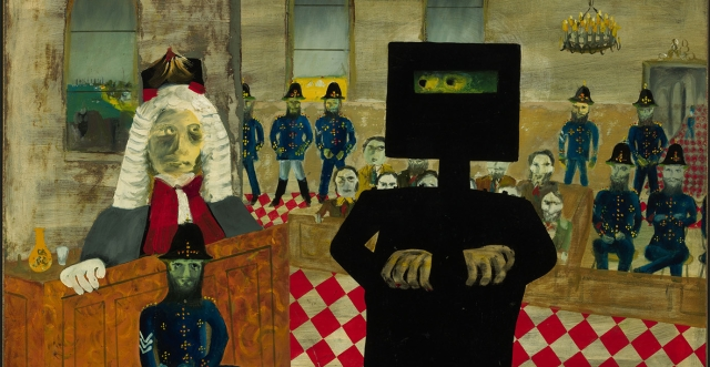 The Gathering - Sidney Nolan