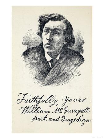 william mcgonagall as performance poet